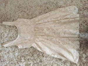 Zara Robe blanc cassé