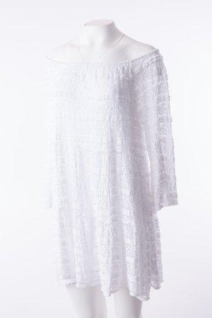 Spitzenkleid Weiß (One Size)