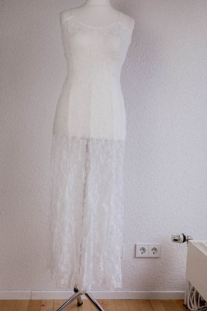 Lace Dress white polyamide