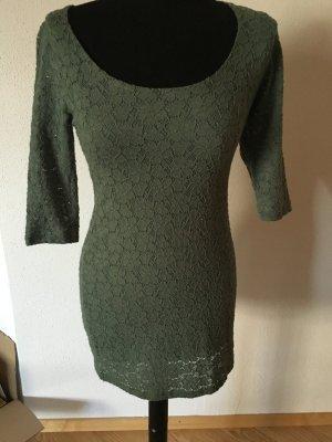 Geklede jurk veelkleurig