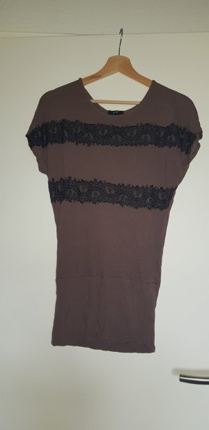 Lace Top black-grey lilac