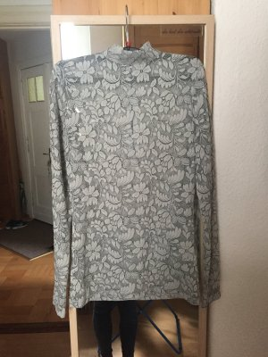Minus Lace Top white-light grey