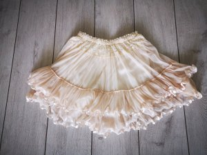 Vila Tulle Skirt cream