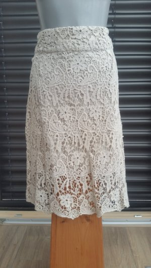 Manguun Lace Skirt natural white