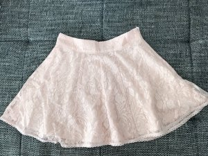 Forever 21 Lace Skirt pink