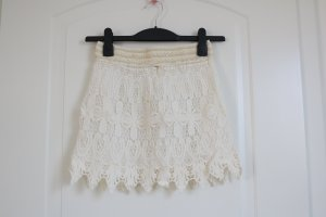 Lace Skirt white