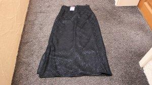 Falda de encaje negro Viscosa