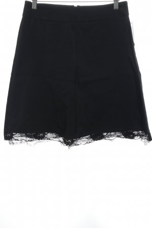 Lace Skirt black elegant