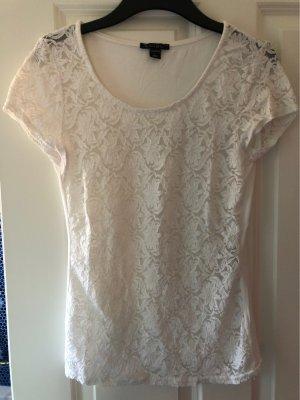 Amisu Mesh Shirt white