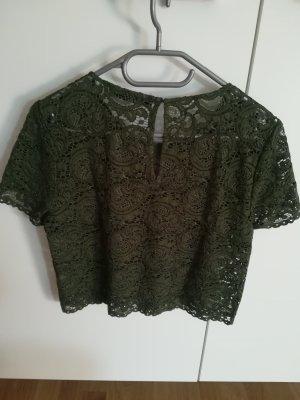 Hallhuber Netshirt khaki