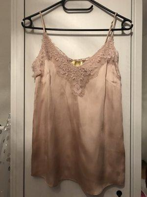 Spitzenshirt von H&M rosa