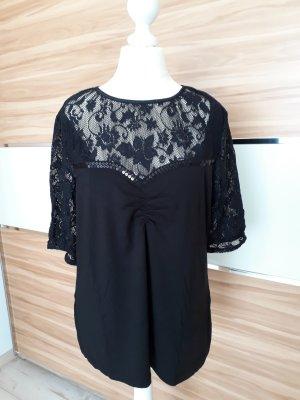 Ricarda M Blusa in merletto nero