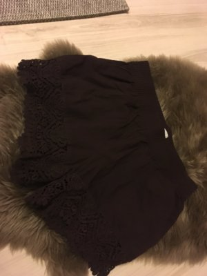 H&M Short taille haute multicolore coton