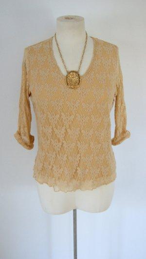 Spitzensweater, Pullover mit Spitze, Barock preppy blogger