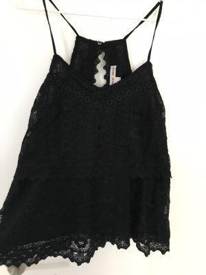Fashion concept Halter Top black
