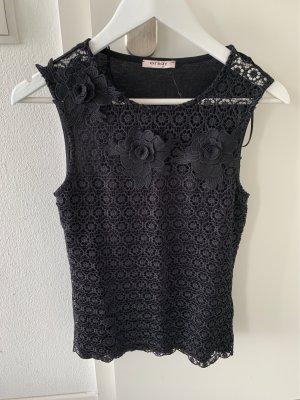 Orsay Top di merletto nero