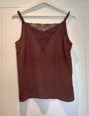 Only Lace Top carmine