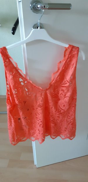 H&M Backless Top salmon