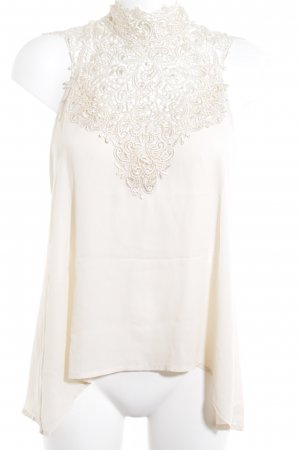 Lace Top cream elegant