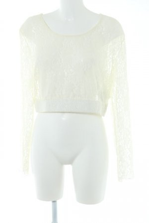 Lace Top cream classic style