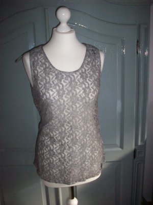 Street One Lace Top grey