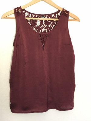 Pimkie Top in seta bordeaux