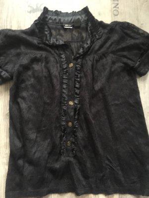Mango Lace Blouse black