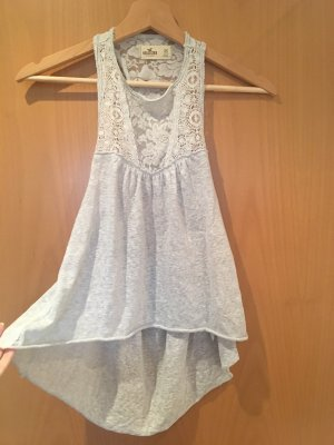 Hollister Haut cut-out argenté-gris clair