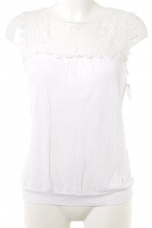 Lace Top white romantic style