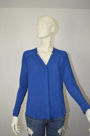 Splendid Bluse langärmelig Gr. M blau
