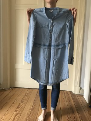 Splendid Blusenkleid, hellblauer, weicher jeansähnlicher Stoff, Größe Small