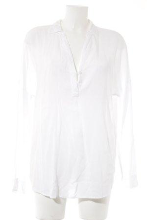 Splendid Langarm-Bluse weiß Elegant