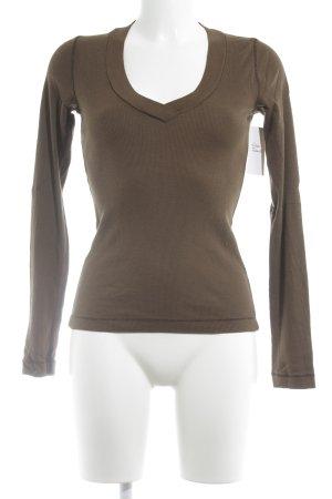 Splendid Longsleeve brown casual look