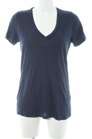 Splendid T-Shirt dunkelblau Casual-Look