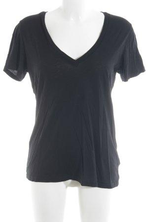 Splendid T-Shirt schwarz Casual-Look
