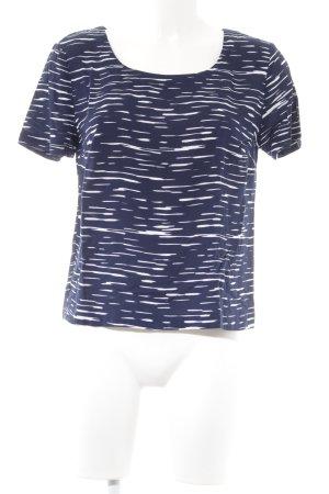 Splendid T-Shirt weiß-dunkelblau Streifenmuster Casual-Look
