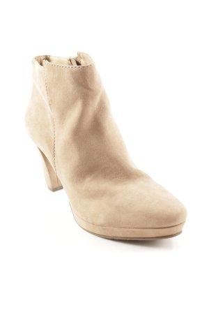 Spm Absatz Stiefel beige Casual-Look