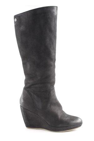 Spm Absatz Stiefel schwarz Casual-Look