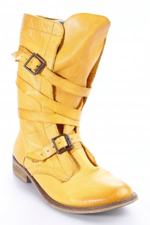 Spm Boots goldorange Casual-Look