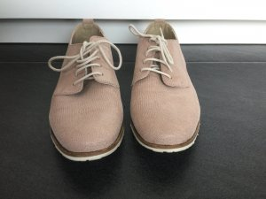 Spm Lace Shoes white-rose-gold-coloured