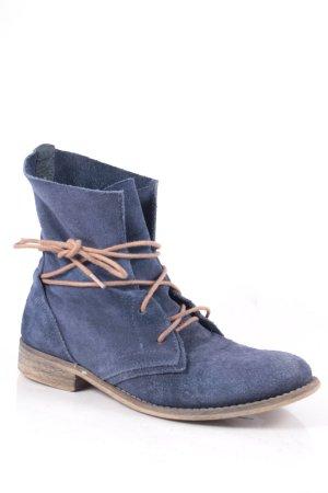 Spm Halbstiefel blau Street-Fashion-Look