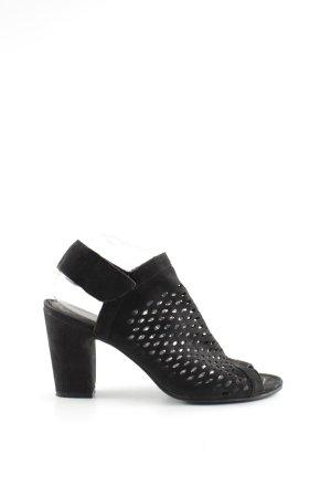 Spm High Heel Sandaletten schwarz Casual-Look