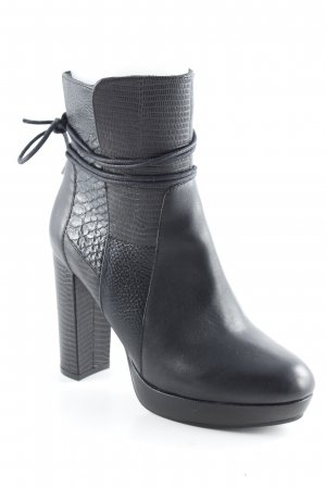 Spm High Heel Stiefel schwarz Party-Look