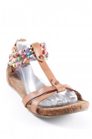 Spm Strapped Sandals light brown-russet beach look