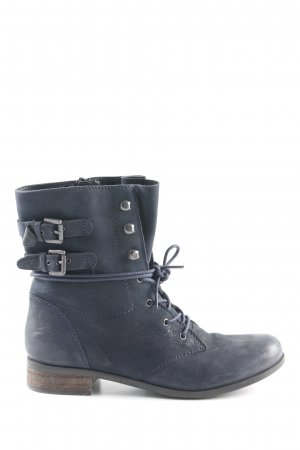 Spm Lace-up Boots dark blue casual look