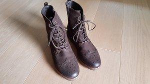 SPM Shoes Boots Grösse 41 in dunkelbraun