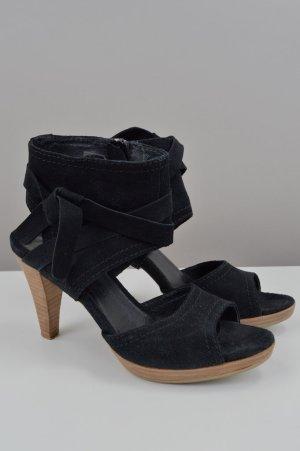 SPM Shoes&Boots Sandaletten Leder schwarz Größe 37
