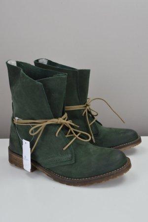 SPM Shoes & Boots Stiefeletten Schnürstiefel olivgrün Größe 38