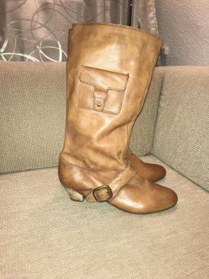 SPM Stiefel Lederstiefel Boots 41