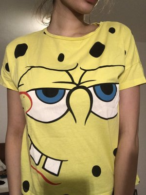 Camiseta negro-amarillo